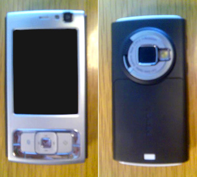 Nokia N83, first pictures and features - Marco Casario